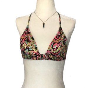 Victoria Secrets Triangle Metallic Bikini Top